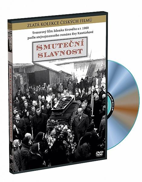 Smuteční slavnost - Zlatá kolekce českých filmů - DVD /plast/