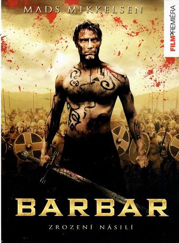 Barbar - Zrození násilí - DVD /digipack/