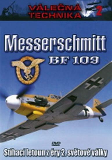 Válečná technika 2 - Messerschmitt BF 109 - DVD /digipack/