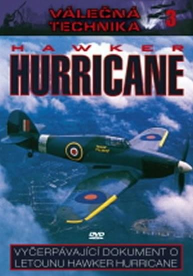 Válečná technika 3 - Hawker Hurricane - DVD /digipack/