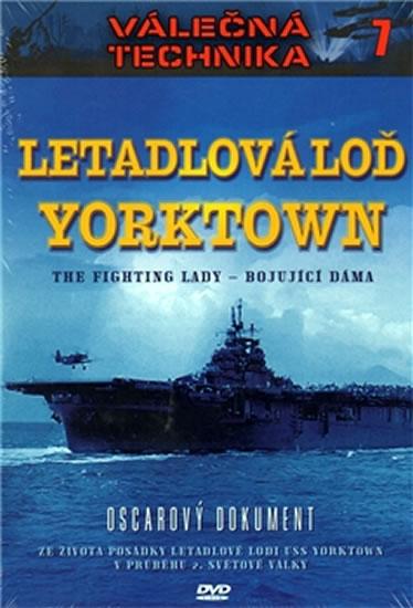 Válečná technika 7 - Letadlová loď Yorktown - DVD /digipack/