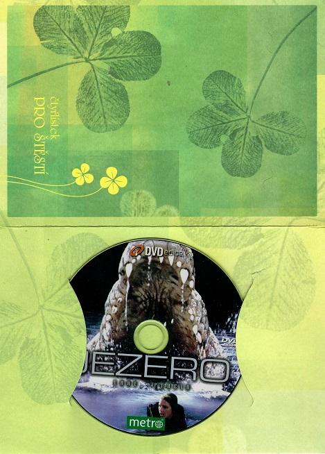 Jezero ( dárkový papír obal ) DVD