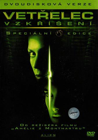 Vetřelec - Vzkříšení - dvoudisková verze - 2xDVD /plast/