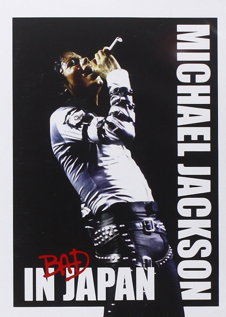 Michael Jackson - Bad in Japan - DVD /slim/