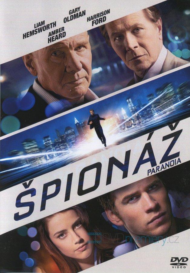 Špionáž - DVD /plast/