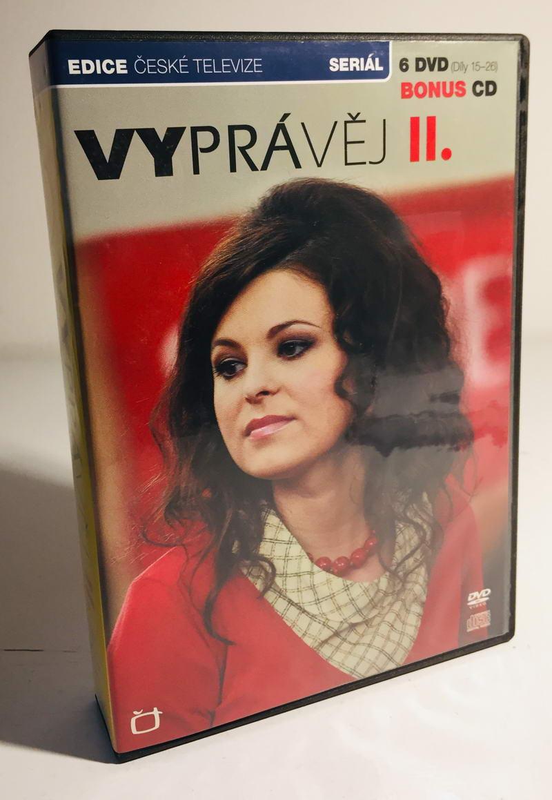 Vyprávěj II - Díly 15-26 - 6xDVD + bonus 1xCD /plast/
