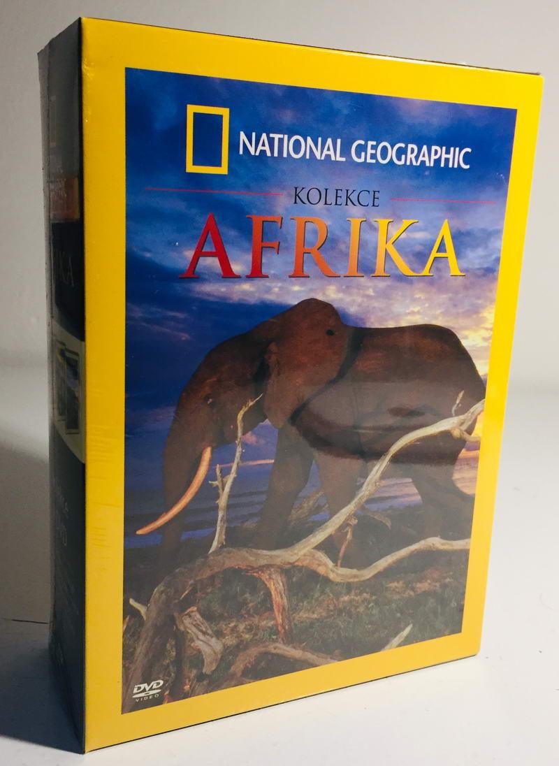 Kolekce Afrika - National Geographic - 4xDVD /plast v šubru/