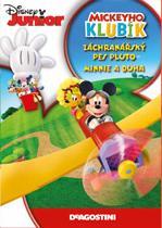 Mickeyho klubík - Záchranářský pes Pluto / Minnie a duha - DVD /plast/
