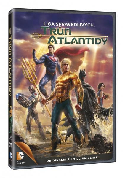 Liga spravedlivých - Trůn Atlantidy - DVD /plast/