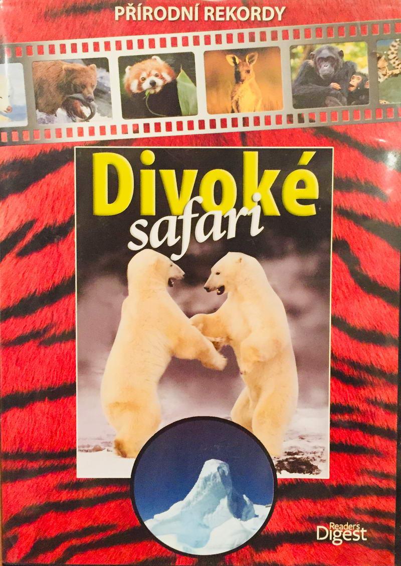 Divoké Safari - Přírodní rekordy - DVD /plast/