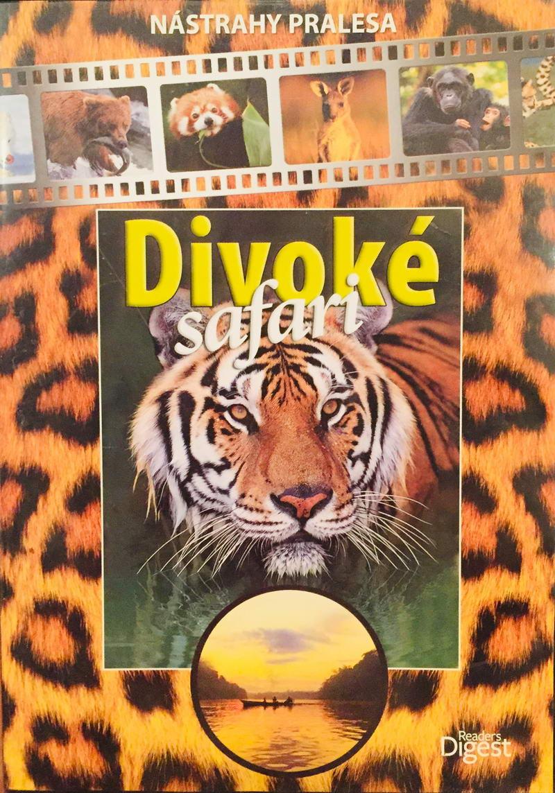 Divoké Safari - Nástrahy pralesa - DVD /plast/