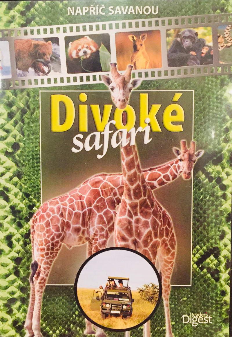 Divoké Safari - Napříč savanou - DVD /plast/