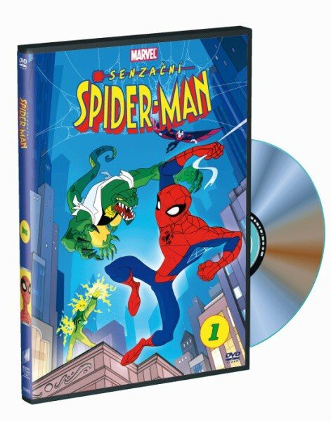 Senzační Spider-Man 3 - DVD /plast/