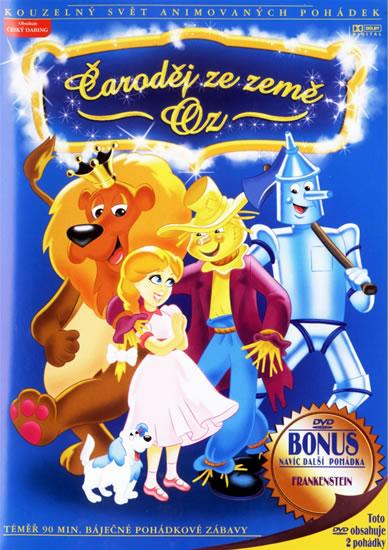 Čaroděj ze země Oz - DVD /plast/slim