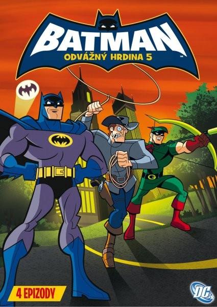 Batman - Odvážný hrdina 5 - DVD /plast/