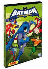 Batman - Odvážný hrdina 3 - DVD /plast/