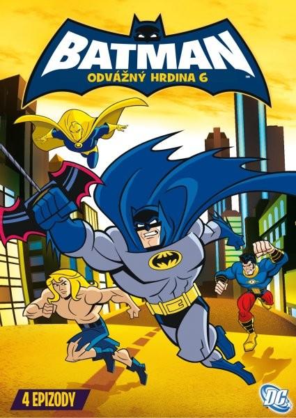 Batman - Odvážný hrdina 6 - DVD /plast/
