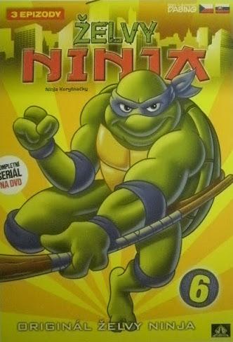 Želvy Ninja 6 - Vapet - DVD /digipack/