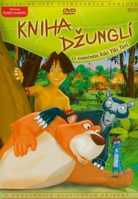 Kniha - O statečném Riki Tiki Tavi - DVD /plast/