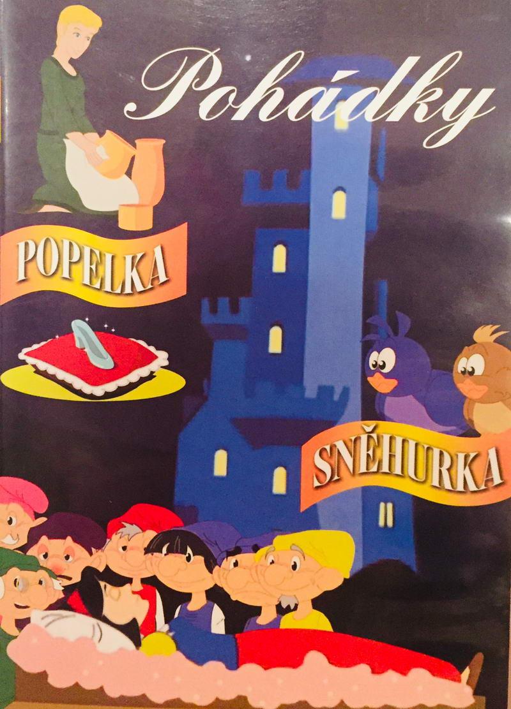 Pohádky - Popelka / Sněhurka - DVD /plast/