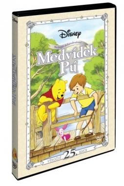 Medvídek Pú - Nejlepší dobrodružství - výroční 25. edice - DVD /plast/