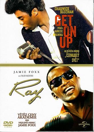 Kolekce Get on Up - Příběh Jamese Browna / Ray Charles - 2x DVD
