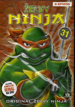 Želvy ninja 31 ( plast ) DVD