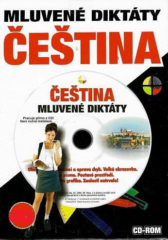Mluvené diktáty Čeština ( pošetka ) CD ROM