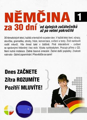 Němčina za 30 dní CD 1 ( pošetka ) CD
