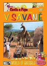 Cecile a Pepo představují zvířátka V savaně - DVD /plast/ /bazarové zboží/
