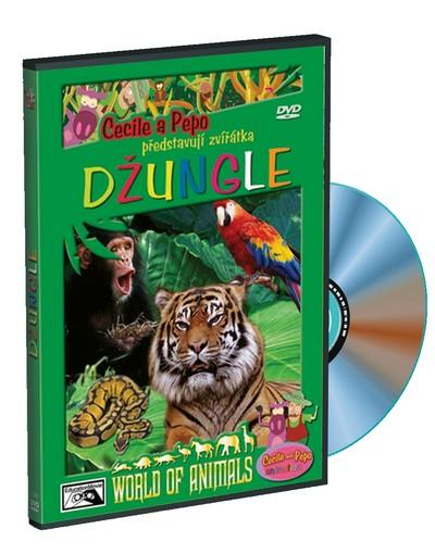 Cecile a Pepo představují zvířátka Džungle - DVD /plast/ /bazarové zboží/