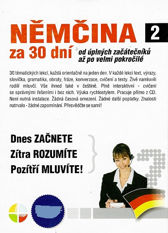 Němčina za 30 dní CD 2 ( pošetka ) CD