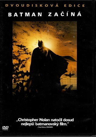 Batman začíná S.E. 2DVD plast