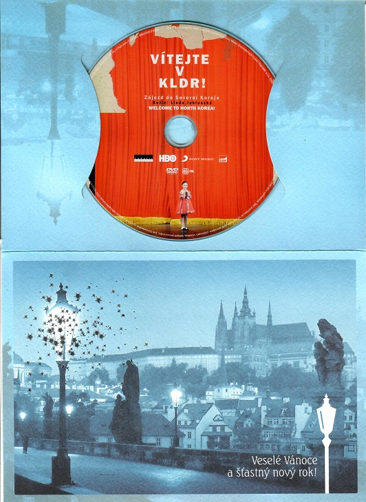 Vítejte v KLDR ( dárkový papír obal ) - DVD