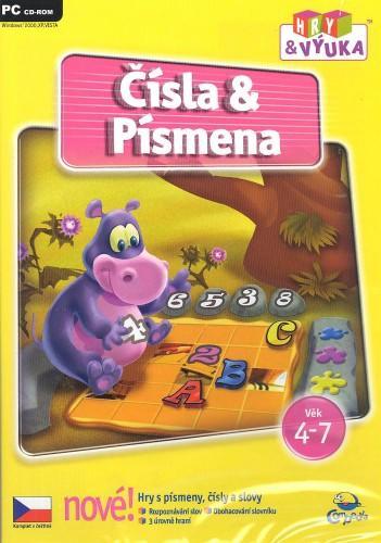 Čísla & písmena - hry & výuka - PC hra /plast/