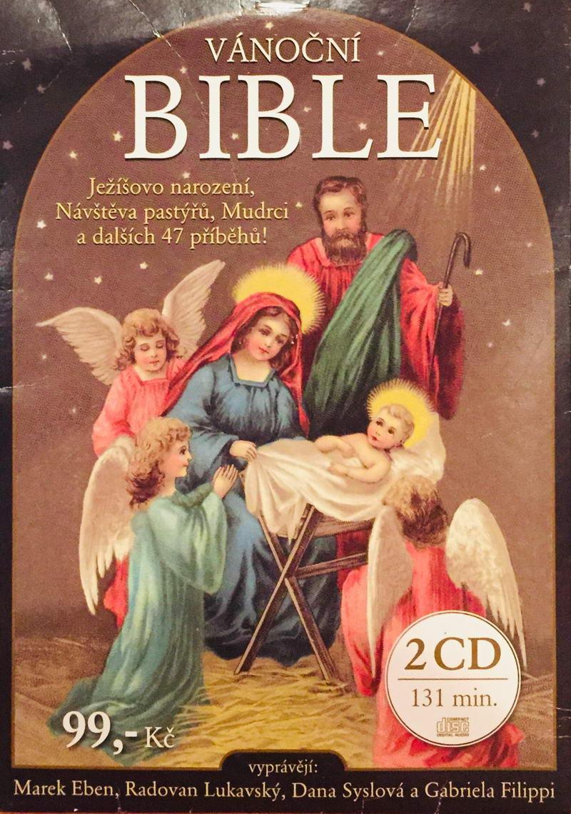 Vánoční bible - 2xCD /pošetka/