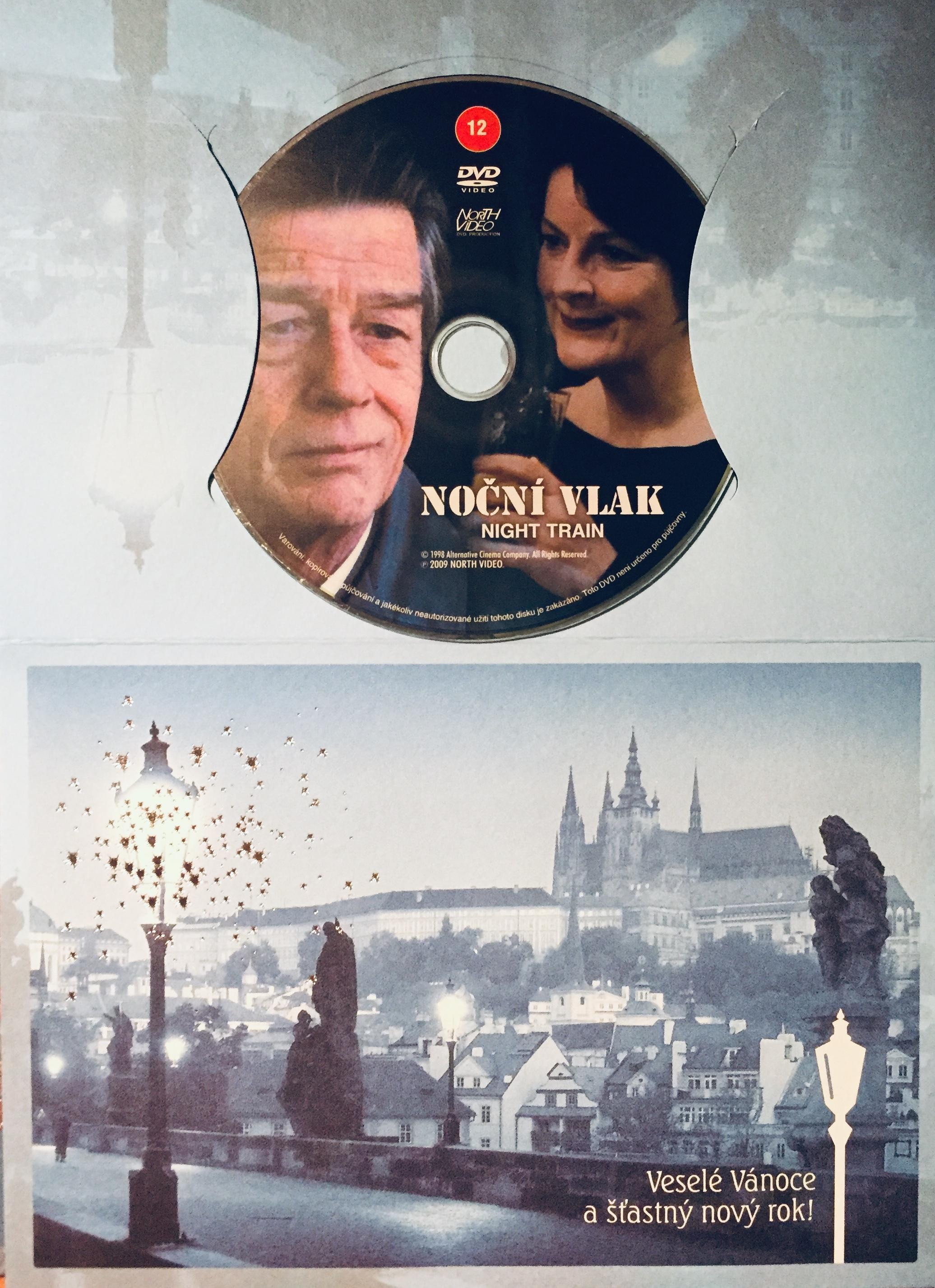 Noční vlak - DVD /dárkový obal/