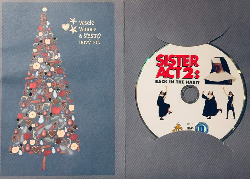 Sister Act 2 / Sestra v akci 2 - DVD /dárkový obal/
