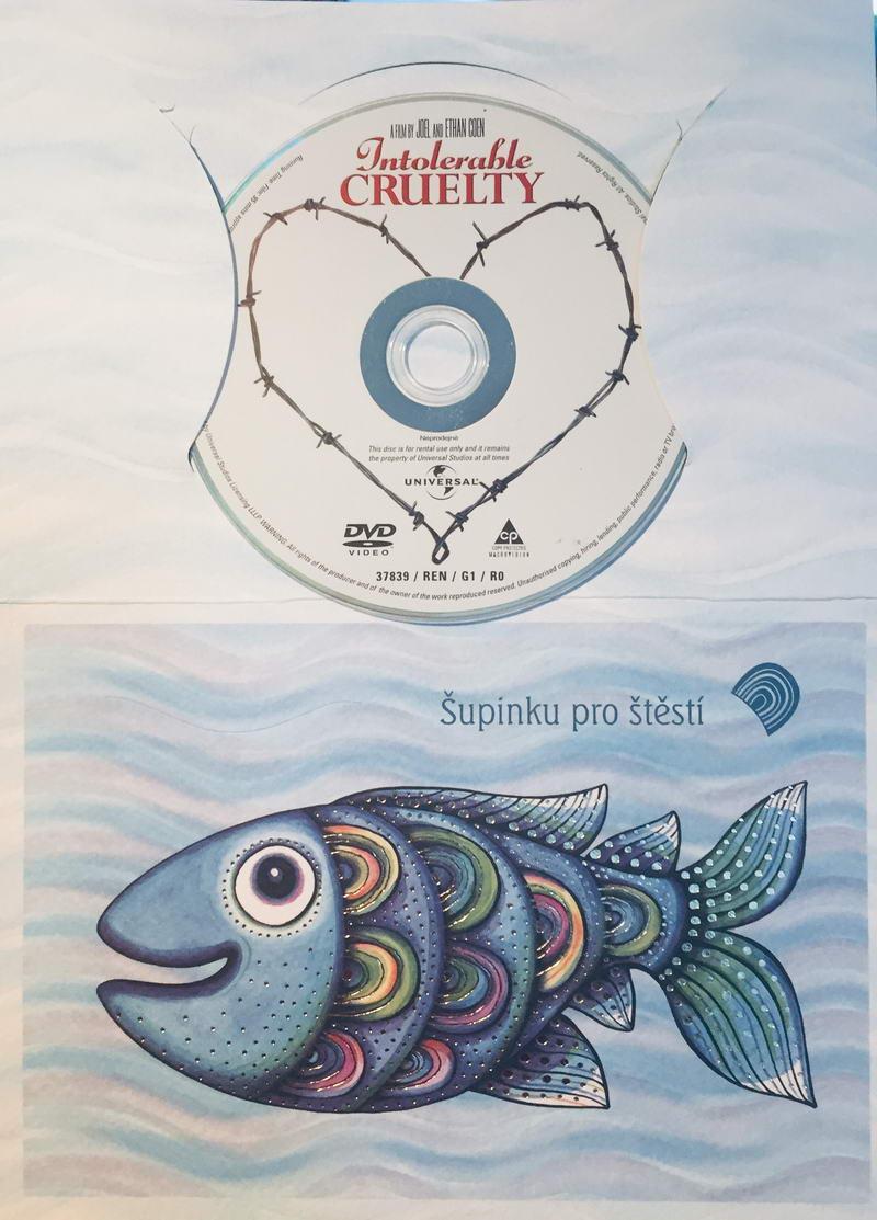 Intolerable Cruelty - DVD /dárkový obal/