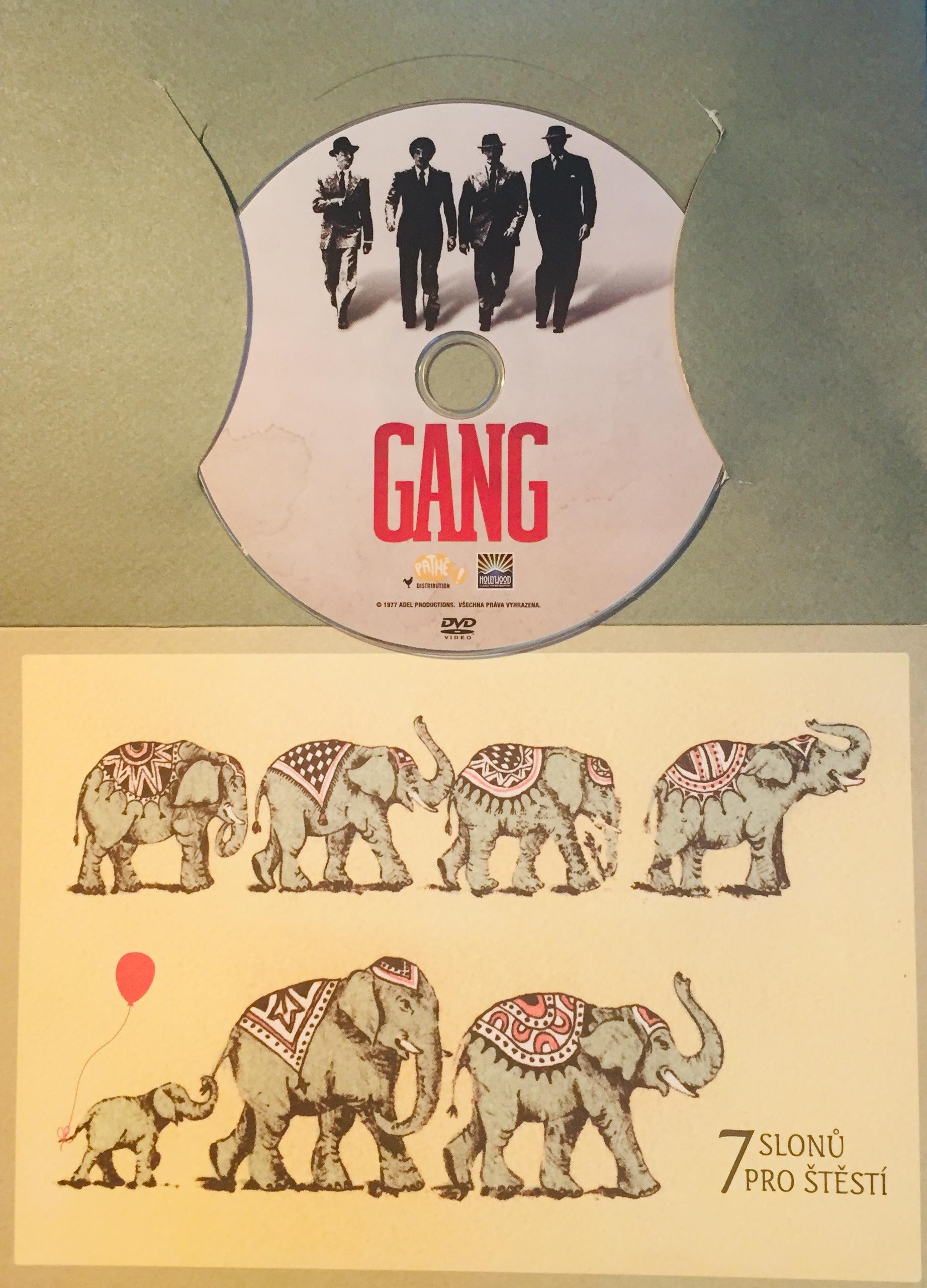 Gang - DVD /dárkový obal/