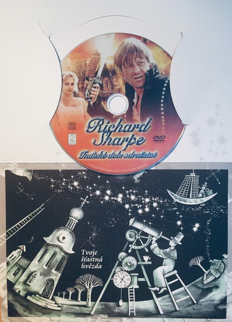 Richard Sharpe - Indické dobrodružství - DVD /dárkový obal/