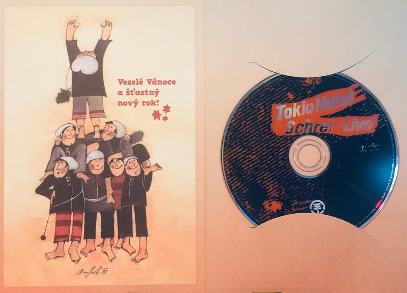 Tokio Hotel - Schrei - Live - DVD /dárkový obal/
