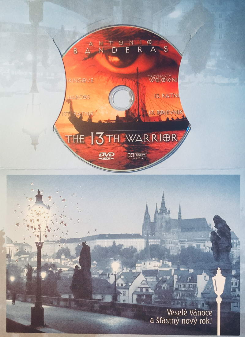 The 13th Warrior - DVD /dárkový obal/