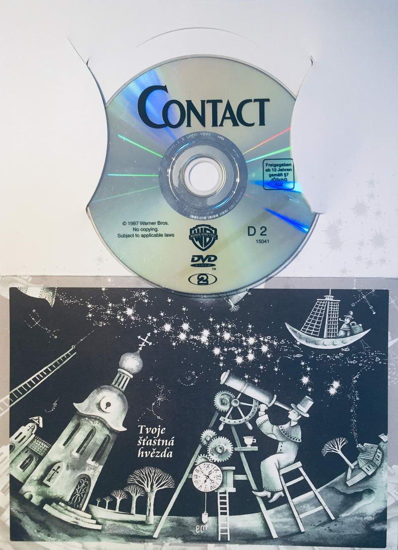 Contact - DVD /dárkový obal/