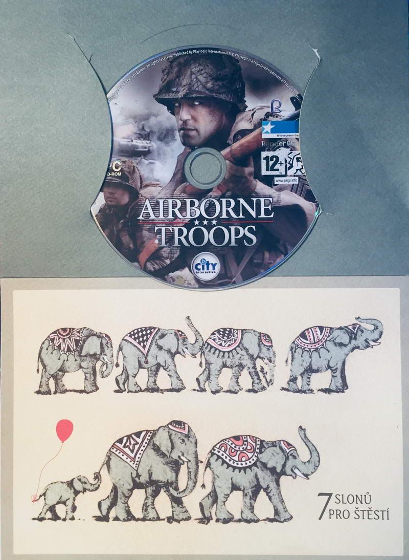 Airborne Troops - PC hra /dárkový obal/
