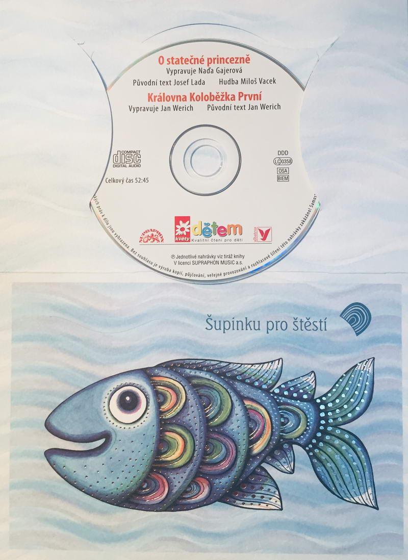 O statečné princezně / Královna Koloběžka První - CD /dárkový obal/