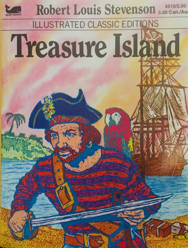 Treasure Island - Robert Louis Stevenson /bazarové zboží/