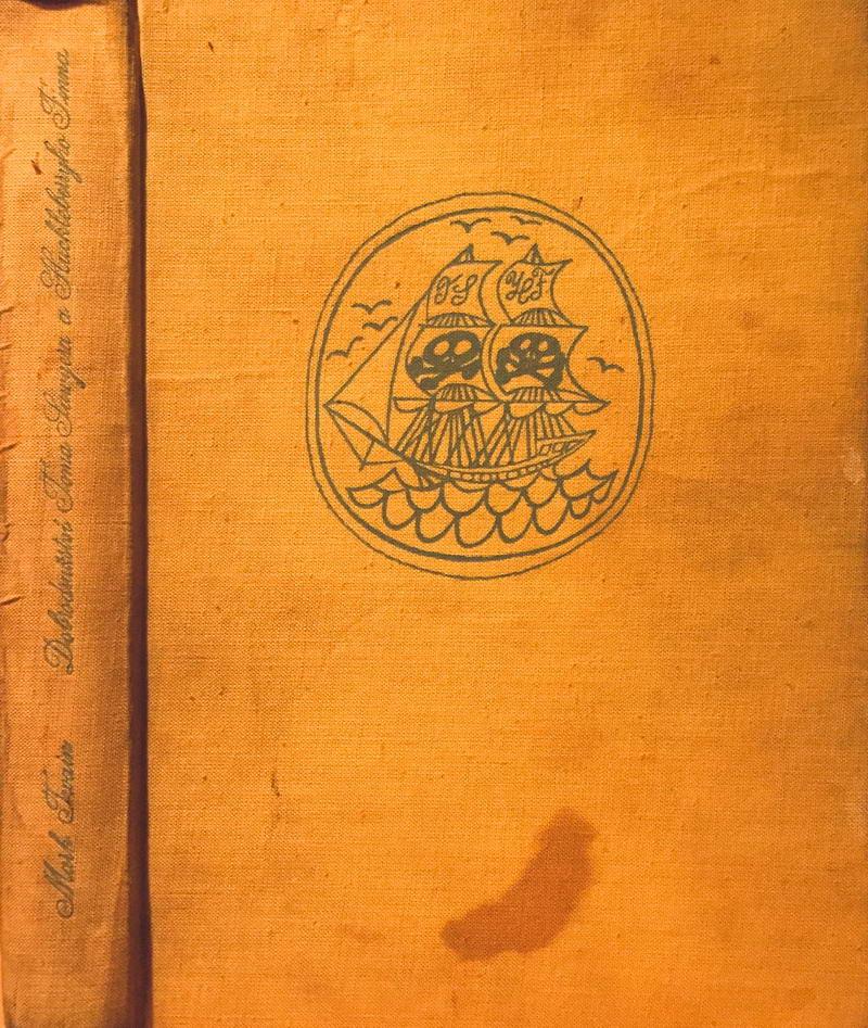 Dobrodružství Toma Sawyera a Huckleberryho Finna - Mark Twain /bazarové zboží/