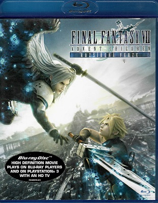 Final Fantasy VII - Advent Children ( blu-ray )