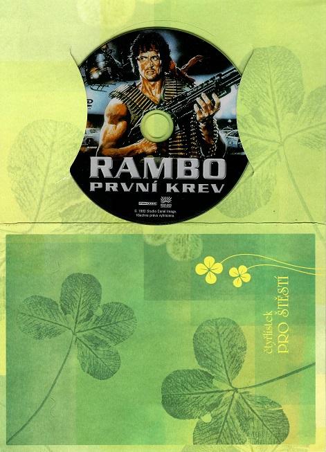 Rambo: První krev ( dárkový papír obal ) - DVD